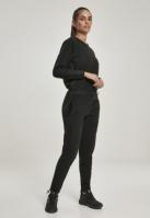 Salopeta polar fleece pentru Dama negru Urban Classics