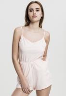 Salopeta scurta cu bretele subtiri pentru Dama roz Urban Classics