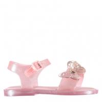 Sandale Mini Melissa Butterfly roz glitter