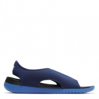 Sandale Nike Sunray Adjust 5 V2 Little/Big pentru Copil albastru gri