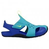 Sandale Nike Sunray pentru Copil albastru aqua verde