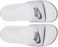 Papuci albi Nike Benassi Jdi 343881-102 Dama