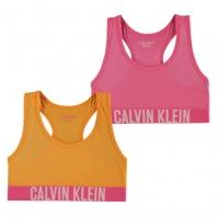 Set 2 Calvin Klein Intense Power Bras roz portocaliu