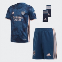 Set adidas Arsenal Third 2020 2021 albastru