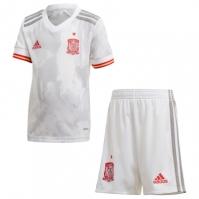 Set adidas Spania Away 2020 alb