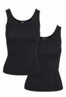 Set de 2 Basic Stretch Top pentru Dama negru