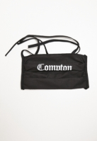 Set de 2 Masca fashion protectie Compton negru Mister Tee