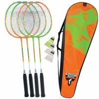 Set Badminton Talbot Torro 4 Attacker 449505 Copil