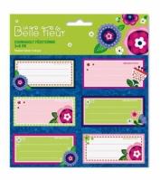 Set Etichete Caiet La Belle Fleur