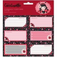 Set Etichete Caiet La Coccinelle