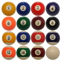 Riley American Pool Balls Set
