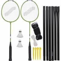 Set pentru badminton Stiga Garden GS 2 Rackets Ailerons Net cu Posts Barbat