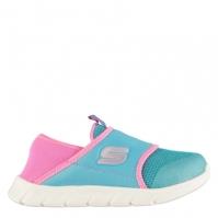 Skechers Comfy Flex Shoes pentru fete pentru Bebelusi