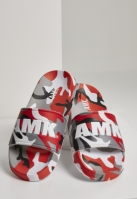 Soldier AMK Slides rosu-camuflaj
