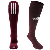 Sosete adidas fotbal Santos 18 Knee maro inchis