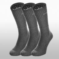 Sosete Puma Sport Sock 3-pack Unisex adulti shades of gri and argintiu