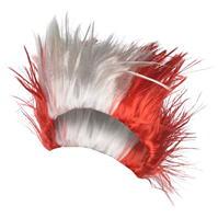 Team Euro Wig rosu alb