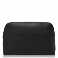 Ted Baker Crosshatch Debossed Washbag negru