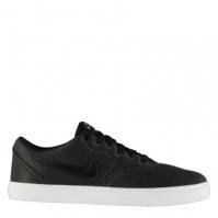 Tenisi din Panza Nike SB Check pentru Barbat gri inchis negru