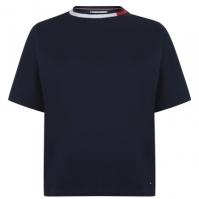 Tommy Bodywear Tommy Hilfiger cu dungi Top bleumarin blazer