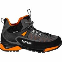 Trekking Shoes Alpinus The Ridge Mid Pro Anthracite-portocaliu GR43288