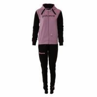Trening sport TUTA DONNA 103 CON CAPP in FELPA Givova violet negru