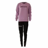 Trening sport TUTA DONNA 104 G/COLLO CON PAILLETTES IN FELPA Givova violet negru