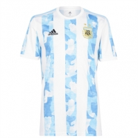 Tricou Acasa adidas Argentina 2020 alb albastru