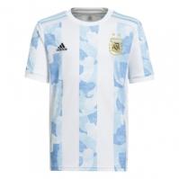 Tricou Acasa adidas Argentina 2020 pentru Copil alb albastru