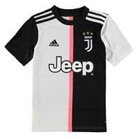 Tricou Acasa adidas Juventus 2019 2020 pentru Copil negru alb