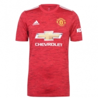 Tricou Acasa adidas Manchester United 2020 2021 rosu