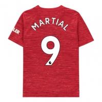 Tricou Acasa adidas Manchester United Anthony Martial 2020 2021 pentru Copil