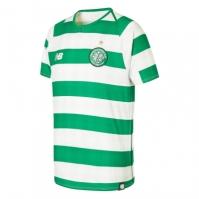 Tricou Acasa New Balance Celtic 2018 2019 pentru Copil alb verde