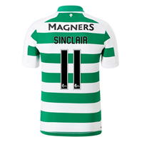 Tricou Acasa New Balance Celtic Scott Sinclair 2019 2020 alb verde