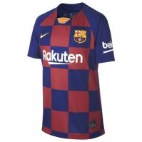 Tricou Acasa Nike Barcelona 2019 2020 pentru Copil albastru roial