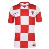Tricou Acasa Nike Croatia 2020 alb rosu