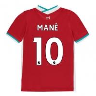 Tricou Acasa Nike Liverpool Acasa Sadio Mane 2020 2021 pentru Copil rosu