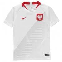 Tricou Acasa Nike Polonia 2018 pentru Copil alb