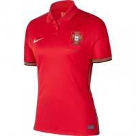 Tricou Acasa Nike Portugalia 2020 pentru Dama rosu