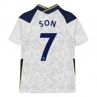 Tricou Acasa Nike Tottenham Hotspur Heung Min Son 2020 2021 pentru Copil alb