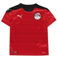 Tricou Acasa Puma Egipt 2020 pentru Copil rosu alb
