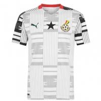 Tricou Acasa Puma Ghana 2020 alb negru