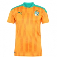 Tricou Acasa Puma Ivory Coast 2020 portocaliu verde