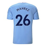Tricou Acasa Puma Manchester City Riyad Mahrez 2020 2021