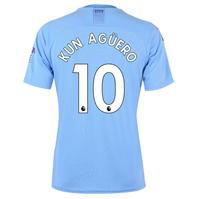 Tricou Acasa Puma Manchester City Sergio Aguero 2019 2020