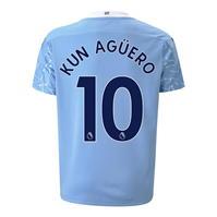 Tricou Acasa Puma Manchester City Sergio Aguero 2020 2021 pentru Copil