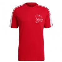 Tricou adidas Arsenal Chinese New Year pentru Barbat rosu