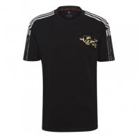 Tricou adidas Manchester United Chinese New Year pentru Barbat negru