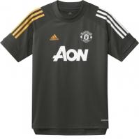 Tricou antrenement adidas Manchester United 2020 2021 pentru Copil verde