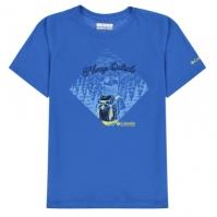 Tricou Columbia pentru baietei super albastru